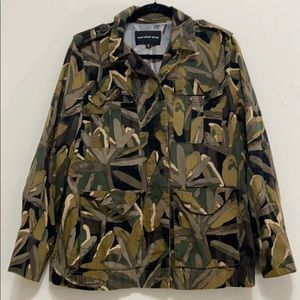 Who What Wear camo floral jacket
